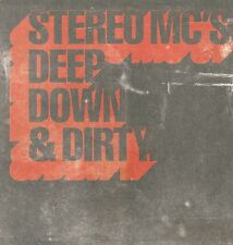 Stereo MC's-Deep down and dirty 1 track Promo CD Single