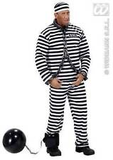 ** INFLATABLE BALL & CHAIN 25CM PRISONER CONVICT FANCY DRESS PROP NEW **
