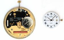 UNIVERSAL GENEVE 77 original quartz watch movement eta 255.411 working (4514)