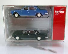 Herpa 065740  2er Wolga M 24 schwarz & blau TT