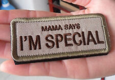 I'M SPECIAL Tactical Military Morale Patch S 413