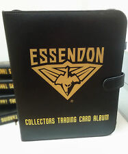 AFL CLUB COLLECTORS TRADING CARDS ALBUM (Inc.10 Pages) -- ESSENDON