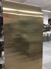 Modern Metallic Mirror Foil Effect Gold Wallpaper Sale DL40524 Free Delivery