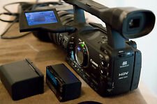 Canon XH A1 High Definition Mini DV Camcorder with Extra Battery & Charger