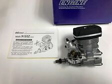 REALLY NICE OS .91 HZR HZ HZ-R TWO STROKE RC HELI HELICOPTER ENGINE 90 SIZE !!