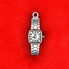 6 x Tibetan Silver Wrist Watch Charm Pendant Finding Beading Making 50 Shades