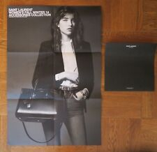 SAINT LAURENT YSL LARGE POSTER WOMEN'S FALL WINTER 2014 HANDBAG SHOES bracelet