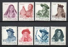 """Portugal SC#675-82, MH (8) Stamp """"Costumes Type"""" Set Issued in 1947/"""