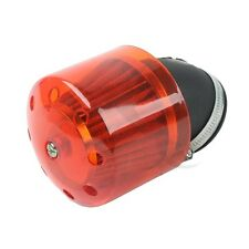 Brand NEW Red Cover Air Cleaner Intake Filter For All 48mm Diameter Motorcycle
