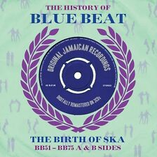 THE HISTORY OF BLUE BEAT-THE BIRTH OF SKA-BB51-BB75 A & B SIDES -NEW SEALED 3CD