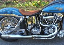 Chrome Thunderheader 2 into 1 Exhaust Pipe System 1970-1983 Harley FX Shovelhead