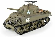 Heng Long 1:16 M4A3 Sherman Radio Control RC Battle Tank Smoke & Sound 2.4Ghz