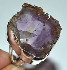 Ametrine Rough 925 Sterling Silver Ring Jewelry s.7.5 JJ3698