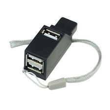 3 Puerto Mini Alta Velocidad USB HUB 2.0 Adaptador Para Notebook PC Smartphone