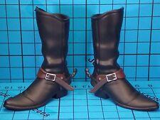 Medicom 1:6 Cowboys & Aliens Colonel Woodrow Dolarhyde figure - boots w/spur