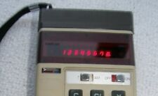 Vintage Canon Palmtronic - Red LED Display calculator (LE-80M)