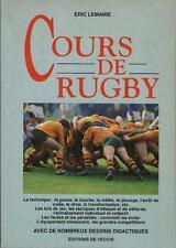 Cours de Rugby TECHNIQUE TACTIQUE ENTRAINEMENT EQUIPEMENT Eric Lemaire