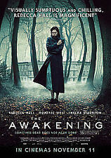 The Awakening (DVD, 2012) Rebecca Hall in a superior spooky thriller NEW/SEALED