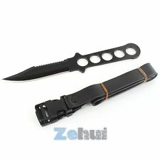 "8.5"" Scuba Diving Knife Stainless Steel Fixed Blade Survival Hunting Knives B74"