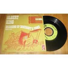 ALBERT KING - Breaking Up Somebody's Home Parts 1 & 2 Rare French PS 1972 BLUES
