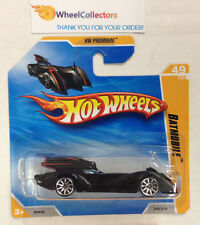 Batmobile #49 Premiere * 10sp on Short Card * 2010 Hot Wheels * N73