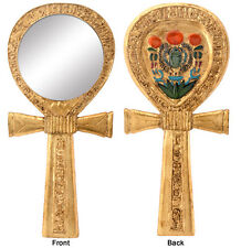 Egypt Ankh Hand Mirror. Ancient Egyptian Cross.Home Decorative Collectible 5786S