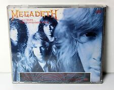 "MEGADETH ""Holy Wars"" / ""Punishment Due"" RARE PROMO ONLY CD US 1990 Metal"