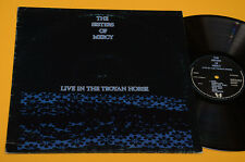 SISTERS OF MERCY LP LIVE IN THE TROYAN HORSE 1°ST ORIG BELGIO 1984 EX+ TOP COLLE