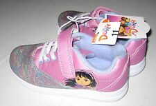Dora the Explorer Toddler Athletic Sneakers Purple Size 11.