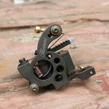 tattoo gun cast iron tattoo machine handmade for shader 10 wrap coils