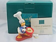 "WDCC ""Something's Cooking"" Chef Donald in Box with COA and Pin"