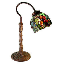 Warehouse of Tiffany-style Grape Desk/Table Lamp 2312+BB632