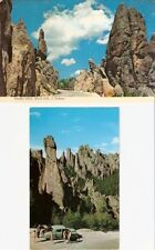 2 South Dakota SD ~ Black Hills ~ Needles Drive and Cathedral Spires