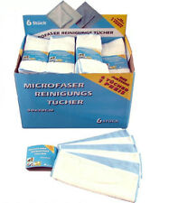 12 Stück Microfasertücher 30x30cm Mikrofaser Microfaser Tuch Mikrofasertücher