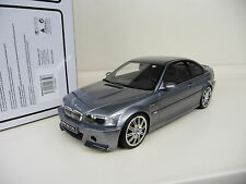 1:18 Otto Mobile BMW M3 CSL E46 with M Rims 2. Edition OT177B NEW SHIPPING FREE