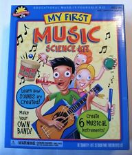 My First Music Science Kit 6 Instruments NEW NIB Toy Ages 4+ Scientific Explorer