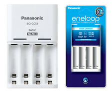NEW Genuine Panasonic BQ-CC51 Battery Charger for eneloop Ni-MH AA / AAA Battery