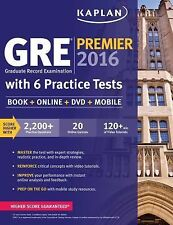 Gre Premier 2016 With 6 Practice Tests by Kaplan
