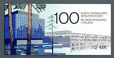 FINLAND - FINLANDIA - Libretto - 1985 - Centenario  della stampa dei primi bigl.