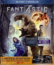 Fantastic 4 Limited Edition Digibook w/SlipCover (Region Free Blu-ray + Digital)