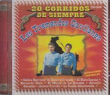Los Tremendos Gavilanes 20 Corridos De Siempre CD New Nuevo Sealed