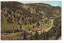 PEACEFUL VALLEY LODGE American Mountaineering Academy COLORADO Postcard PV Liver