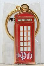 THE PUB Hampton Authentic British Telephone Booth Keychain - Beer/New