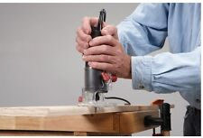 NEW 1/4 in. 2.4 Amp Trim Router Woodworking Wood Clean Cuts 26K RPM