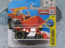 Hot Wheels 2016 #166/250 SPEED DOZER orange HW CITY Works Case N