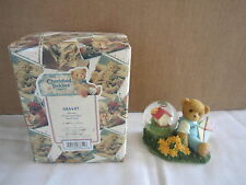 Cherished Teddies by Enesco BEAR With WATER BALL Globe NEW nib 684457