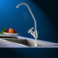 Under Sink Drinking Water Tap Filter Kit System Chrome Rotoary Switch Faucet Tap
