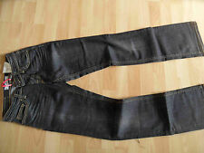FORNARINA tolle dunkle Bootcut Jeans BJORK grau Gr. 27 NEU NP 119,-- 615