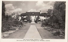 Postcard RPPC The Guild House Garden & Lawn Ontario Canada