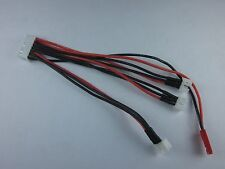 E-Flite MCPX BL 130X 1 to 3 charging balance lead cable adaptor For LiPo Battery